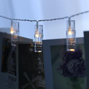YANGFAN LED لقطات الصور سلسلة أضواء لتعليق الصور والبطاقات والأعمال الفنية