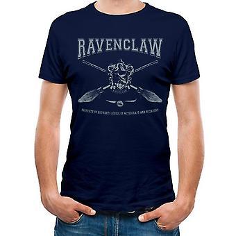 Harry Potter Unisex Adult Collegiate Ravenclaw T-Shirt