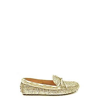 Car Shoe Ezbc029038 Women's Gold Glitter Loafers