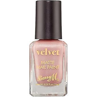 Barry M Velvet Matte Nail Polish Collection - Cafe Velvet 10ml (VNP1)