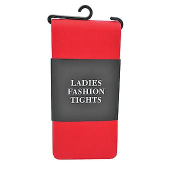 Bristol novelty ba475 tights ladies red, womens, one size