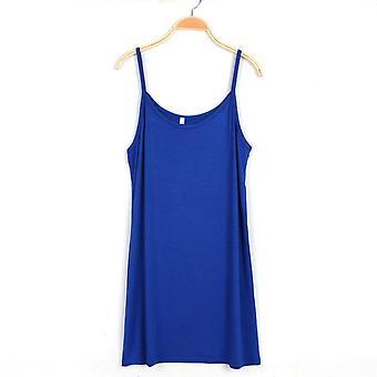 Women's Summer Dress Skirt With Shoulder-straps Render Vest Inside Take
