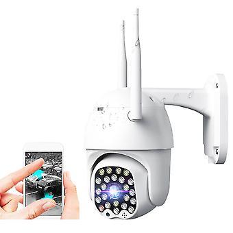 4X Zoom 23LED 2.0MP 1080P HD Wifi IP Sicherheitskamera Outdoor Licht & Ton Alarm Nachtsicht Waterp