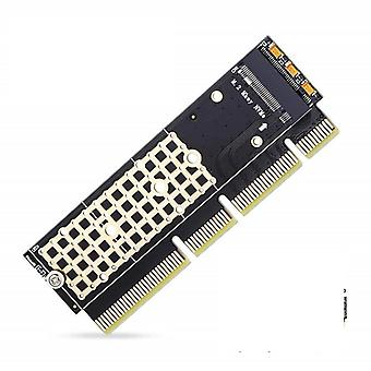 Ssd To Pcie Card M2 Key M Driver With Silicone Cooling Pad Hard Drive Adapter