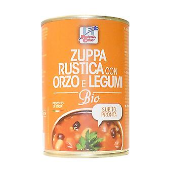 Rustic soup with barley and legumes 400 g