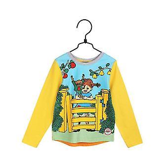 Pippi Longstocking At the Gate Shirt Yellow