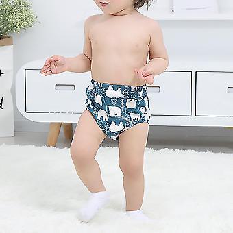 Cotton Comfortable Convenient Durable Washable 6 Layers Gauze Pants Newborn