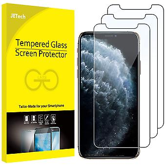 Jetech screen protector for apple iphone 11 pro, iphone xs and iphone x 5.8-inch, case friendly, tem wof89865