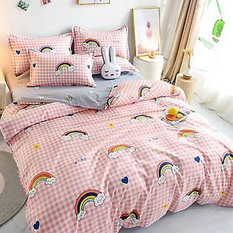 3/4 Piece Solid Color Bedding Set ( Set 1)
