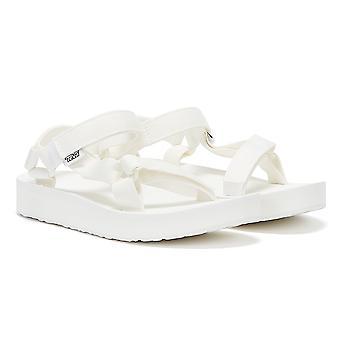 Teva Midform Universal Womens Bright White Sandals