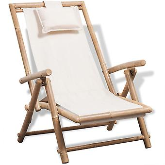 Outdoor Deck Chair Bamboo