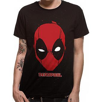 Deadpool Unisex Adults Portrait Design T-Shirt