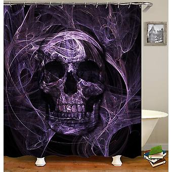 Violetin demon Skull suihku verho