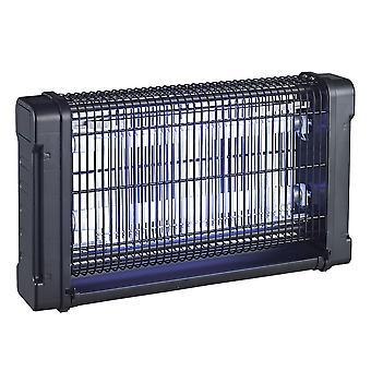 Insectenbeschermingsapparaat PNI UV300 antimuggen, antivliegen, insectenbeschermer met 2 ultraviolette buizen, 20W, binnen en buiten, vloer- of plafondmontage