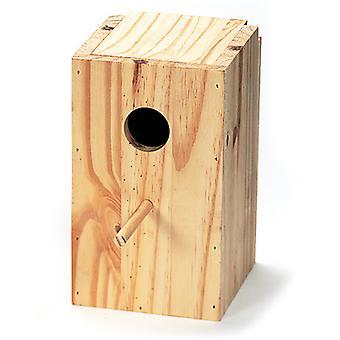 Arquivet Vertical Wood Nest Lovebirds