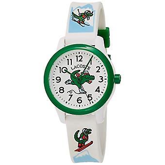 Lacoste Analoog Horloge Quartz Kinderen met Siliconen Band 2030022(2)