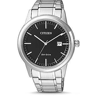 Citizen AW1231-58E - XL men's watch, analog, quartz, stainless steel