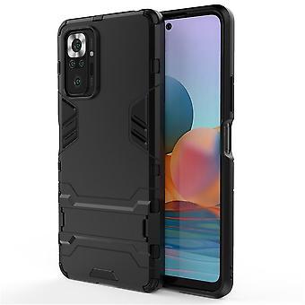 Shockproof case for xiaomi poco x3/poco x3 pro with kickstand black pc5117