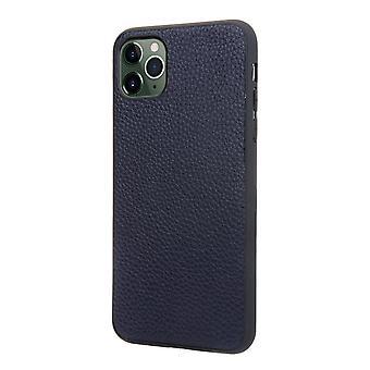 Slot per la custodia del portafoglio in vera pelle per iphone xr blue pc497
