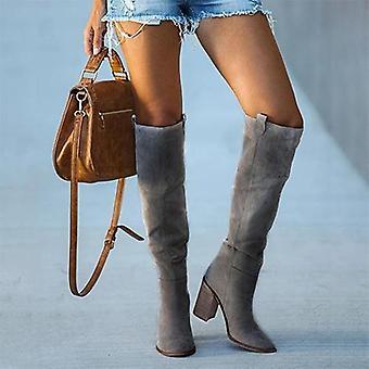 מגפיים גבוהים בברך, נעלי גרב