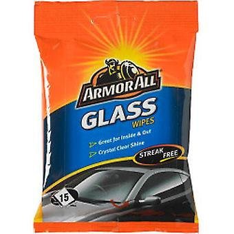 Armor All Glass Wipes Pack of 15