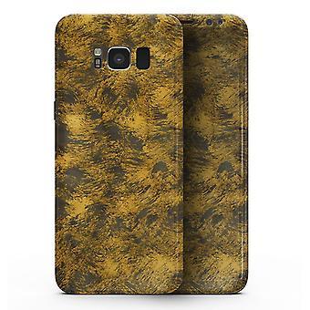 Golden Brush Fire V1 - Samsung Galaxy S8 Full-body Skin Kit