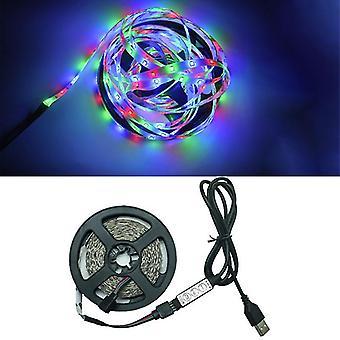 5M 3keys led lights flexible strip usb infrared control rgb smd2835 dc5v fa1224
