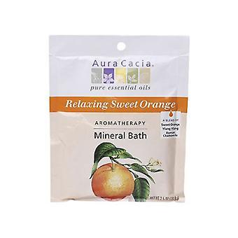 Aura Cacia Mineral Bath, Relax Citrus 2.5 Oz