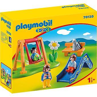 Playmobil 70130 1.2.3 Aire de jeux pour enfants 18m+