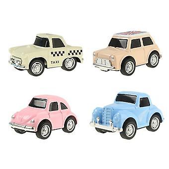 8Kpl / 4kpl mini kaupungit allianssi vetää takaisin valettu seos auto vetää takaisin ajoneuvot malli lapsille lahja