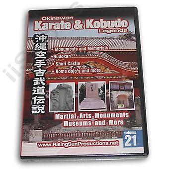 Okinawa Karaté Kobudo #21 Dvd Monuments Musées -Vd6978A
