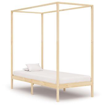 vidaXL pylväs sängyn runko massiivipuu mänty 90 x 200 cm