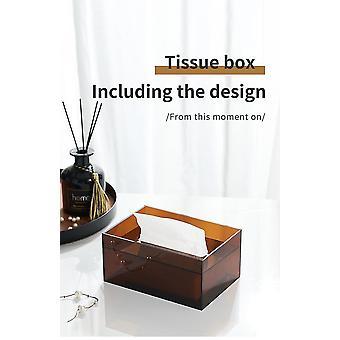 Akryl Tissue Box Holder Serviet Dispenser Sag
