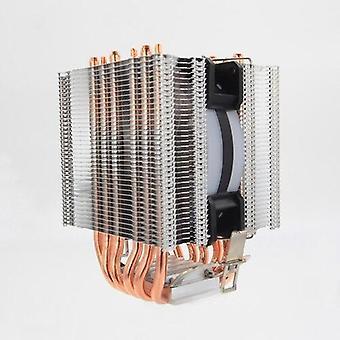 Cooling fan cpu cooler 6 heatpipe with rgb 4pin cpu fan