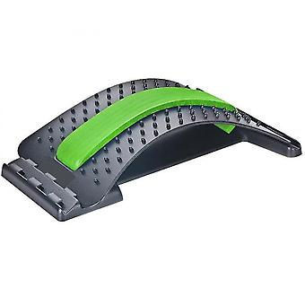 Rückendehnungsgerät, Rückenmassagegerät für Bett & Stuhl & Auto (grün)