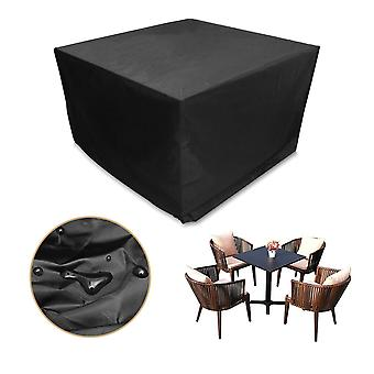 Cube garden furniture cover rattan table set cover 600d heavy duty oxford fabric patio set cover rattan furniture cover