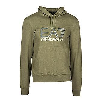 Men's Hoodie Armani Jeans 6ZPM43 PJ05Z Green