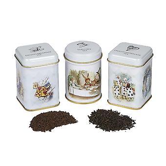 Alice i underlandet mini te burkar gåva med löst blad svart te