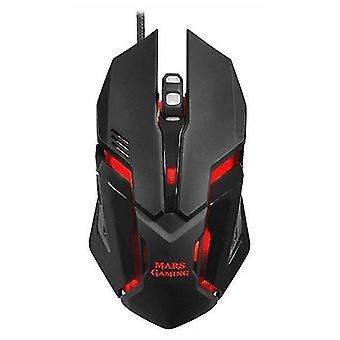Mice trackballs gaming mouse mrm0 4000 dpi black