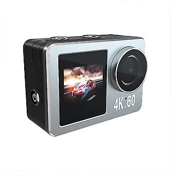 2.0In 4k 20mp wifi contact action camera ultra hd with 10m underwater waterproof camera 4x zoom