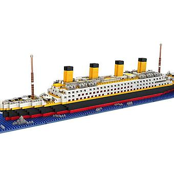 Adultes Enfants Titanic Modèle Bloc De Construction Set 1860pcs Puzzle Cadeau