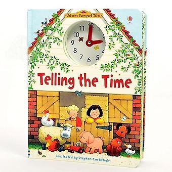 """""""kertoo aikaa"""" Usborne Lift-the-flap Hauska Lasten palapeli korttikirja toiminta Lukeminen Kirjat Lapset Ikä 4-8 Montessori Koulutus Lelu"""