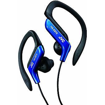JVC Sports Ear Clip Earphones with Adjustable Clip - Blue (Model No. HAEB75A)