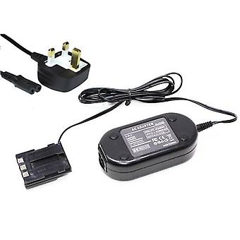 Dot.Foto replacement Canon ACK-700 AC Adapter Kit - CA-PS700 AC Mains Power Adapter & DR-700 DC Coupler - supplied with UK 3-pin mains cable [See Description for Compatibility]
