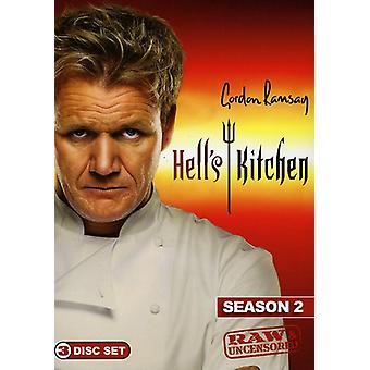 Hell's Kitchen - Hell's Kitchen: Season 2 Raw & Uncensored [DVD] USA import