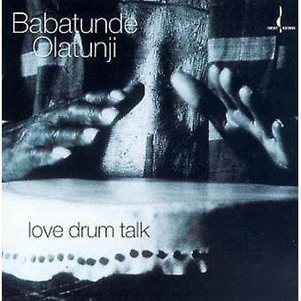 Babatunde Olatunji - kärlek Drum prata [CD] USA import