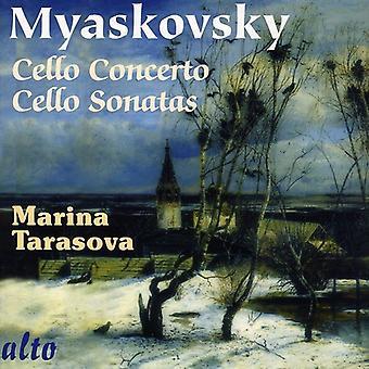 N. Miaskovski - Miaskovski: Concierto para violonchelo; Cello Sonatas [CD] USA importar