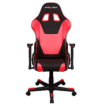 DX Racer DXRacer OH/FD101/NR High-Back Computer Chair Strong Mesh+PU(Black/Red)