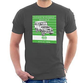 ヘインズ ワーク ショップ マニュアル 0313 トヨタ ランド クルーザー ストライプ メンズ t シャツ