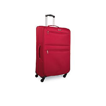 Expandable trolley case suitcase large 70Cm polyester Eva. Semi-rigid, waterproof and lightweight. Telescoping handle, 2 handles, 4 wheels. Size large Xl. I52770